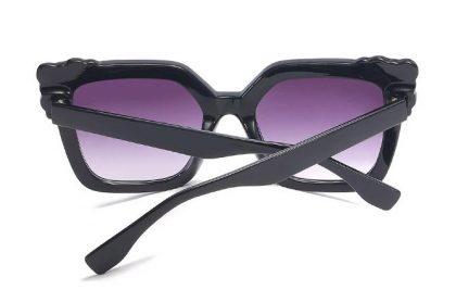 Ochelari de soare dama gradient rame negre spate