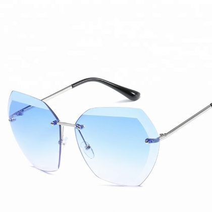 Ochelari de soare dama lentile albastre