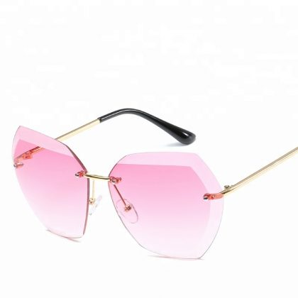 Ochelari de soare dama lentile roz