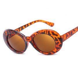 Ochelari de soare dama leopard print