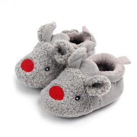 Pantofi bumbac soricel 0-6 luni