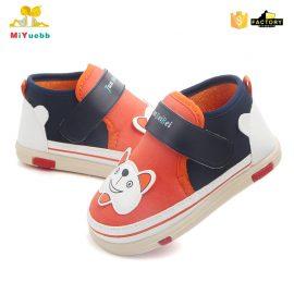 Pantofi catelus portocalii 0-6 luni