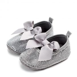Pantofi fetite eleganti 0-6 luni