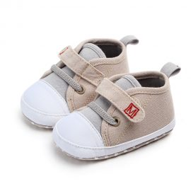 Pantofi sport canvas bej 0-6 luni