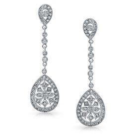 Cercei eleganti argint 925 zirconiu