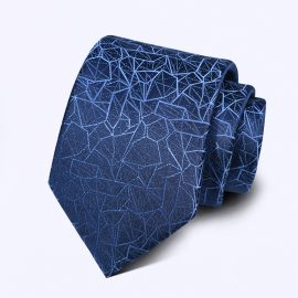 Cravata barbati albastra Arnim