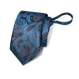 Cravata barbati albastra cu model Peter