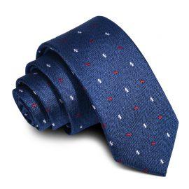 Cravata barbati albastra Eddy