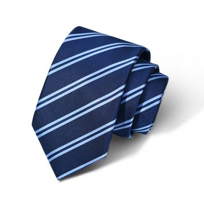 Cravata barbati albastra Gordon