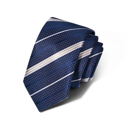 Cravata barbati albastra Henry