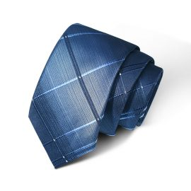 Cravata barbati albastra Herrick