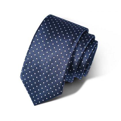 Cravata barbati albastra Mark