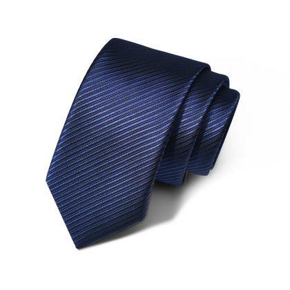 Cravata barbati bleumarin Adams