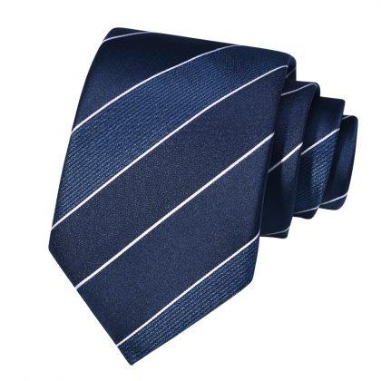Cravata barbati bleumarin Bob