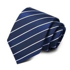 Cravata barbati bleumarin Carter