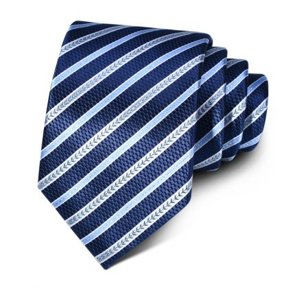 Cravata barbati bleumarin Charlie