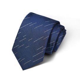 Cravata barbati bleumarin Edgar