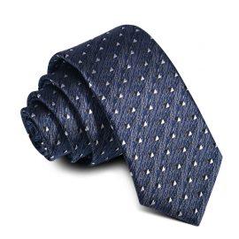 Cravata barbati bleumarin Eduard