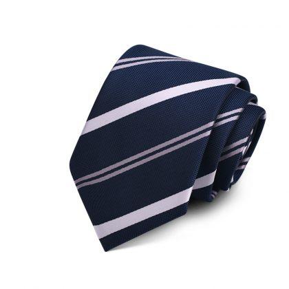 Cravata barbati bleumarin Gordon