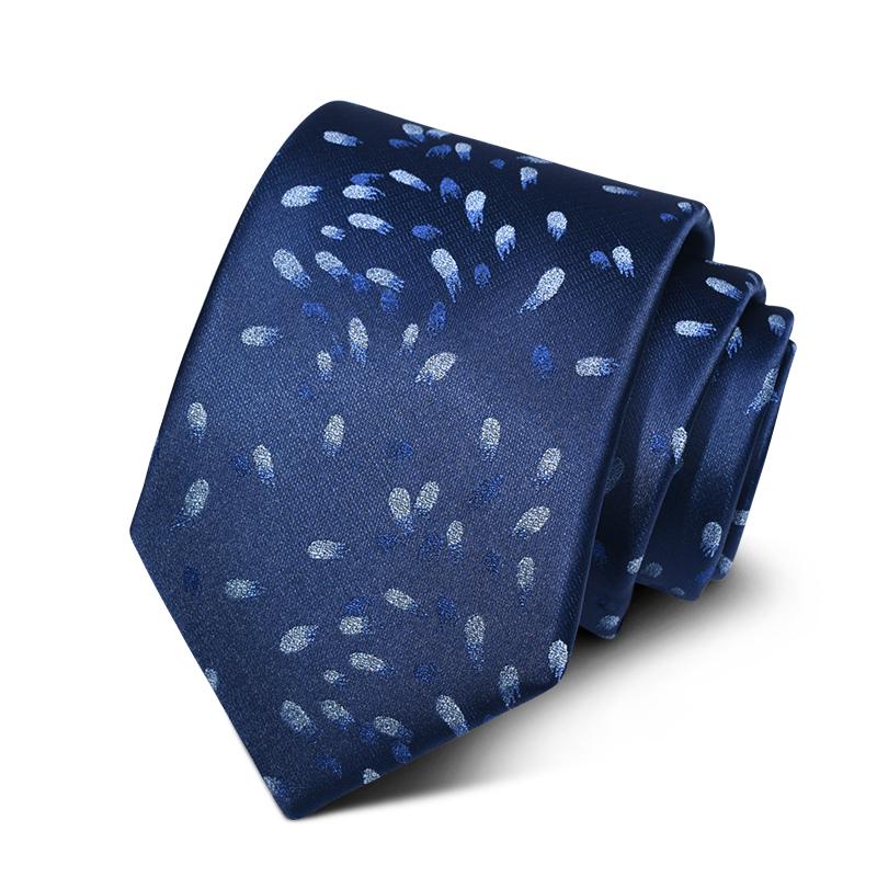 Cravata barbati bleumarin Lenny
