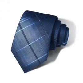 Cravata barbati bleumarin Leonard