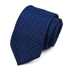 Cravata barbati bleumarin Peter