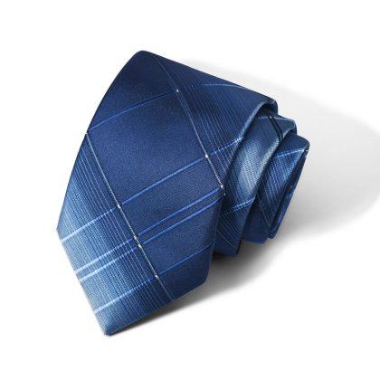 Cravata barbati bleumarin Richard