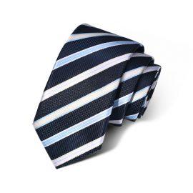 Cravata barbati bleumarin Slade