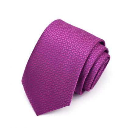 Cravata barbati fuchsia Rob