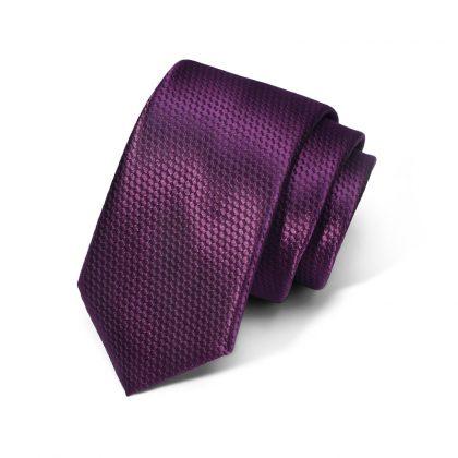 Cravata barbati mov Serge