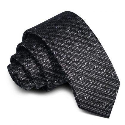 Cravata barbati neagra Colin