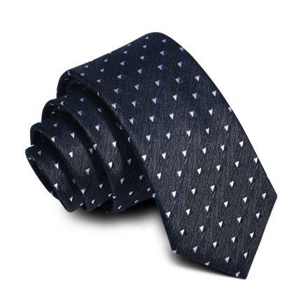 Cravata barbati neagra Dustin