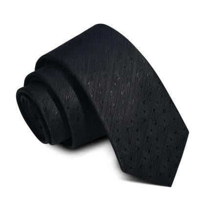 Cravata barbati neagra Fred