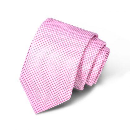 Cravata barbati roz Richard