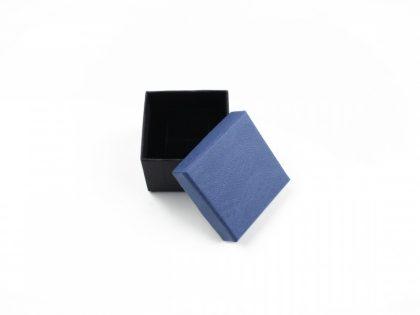 Cutie cadou inel/cercei albastra