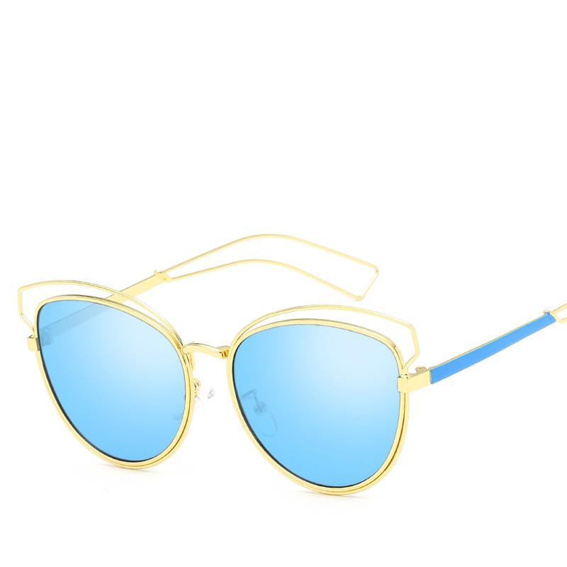 Ochelari de soare dama lentile albastre Betty