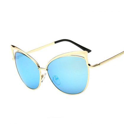 Ochelari de soare dama lentile albastre Devon