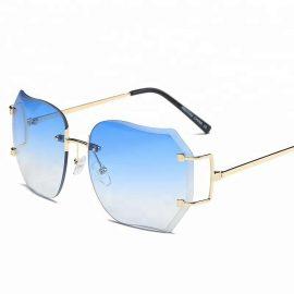 Ochelari de soare dama lentile albastre Erica