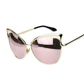 Ochelari de soare dama lentile roz Devon