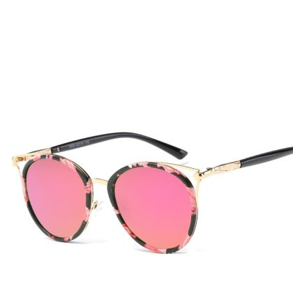 Ochelari de soare dama lentile roz Fergie