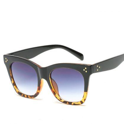 Ochelari de soare dama rame leopard print