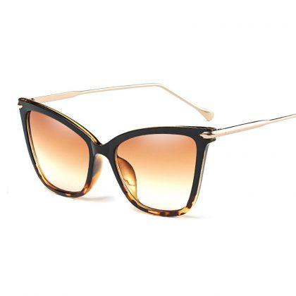 Ochelari de soare dama rame leopard print Gaby