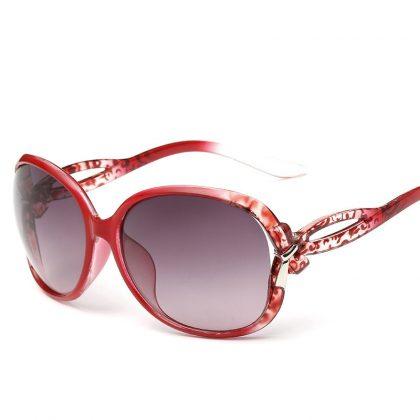 Ochelari de soare dama rame rosii Jessie