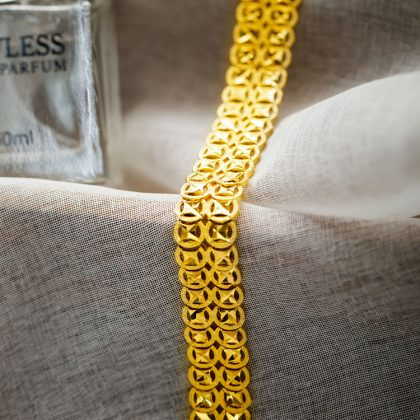 Bratara lata placata aur Marlary model