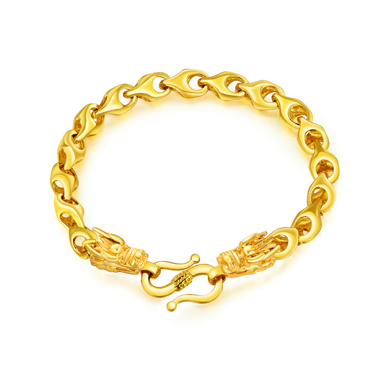 Bratara placata aur dragon Marlary