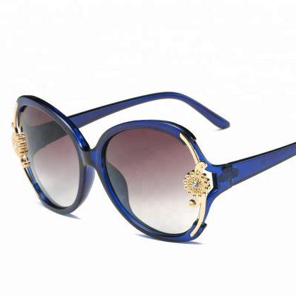 Ochelari de soare albastrii floricica Catherine