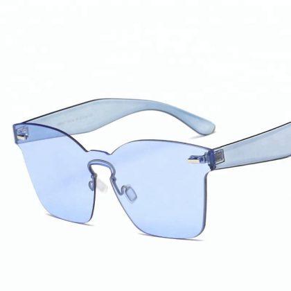 Ochelari de soare dama albastri Alexia