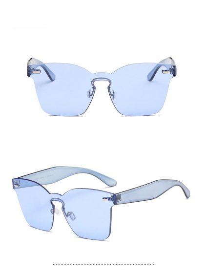 Ochelari de soare dama albastri Alexia detalii