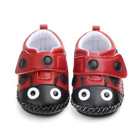 Pantofi buburuza unisex 0-6 luni