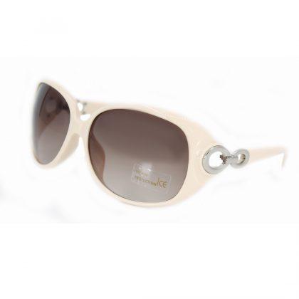 Ochelari de soare dama rame albe-roz Amber